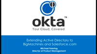 Extenting Active Directory to BigMachines & Salesforce.com