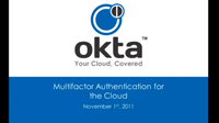 Securing Cloud Applications with Multifactor Authentication