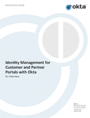 Okta for Customer and Partner IAM - Overview