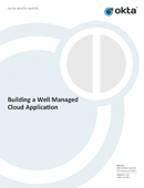 Building a Well Managed Cloud Application