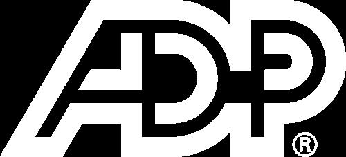 ADP logo white