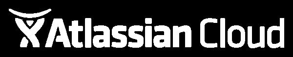 Atlassian Cloud logo white