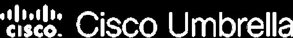 Cisco Umbrella logo white