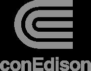 Con Edison Logo Grayscale