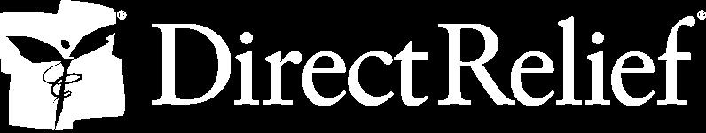 Direct Relief Logo white