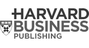 Harvard Business Publishing logo grayscale