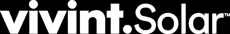 Vivint Solar White Logo