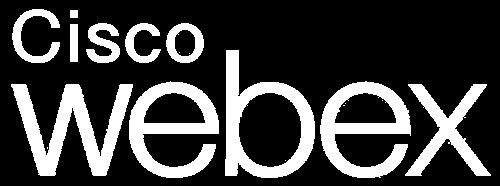 Webex logo white