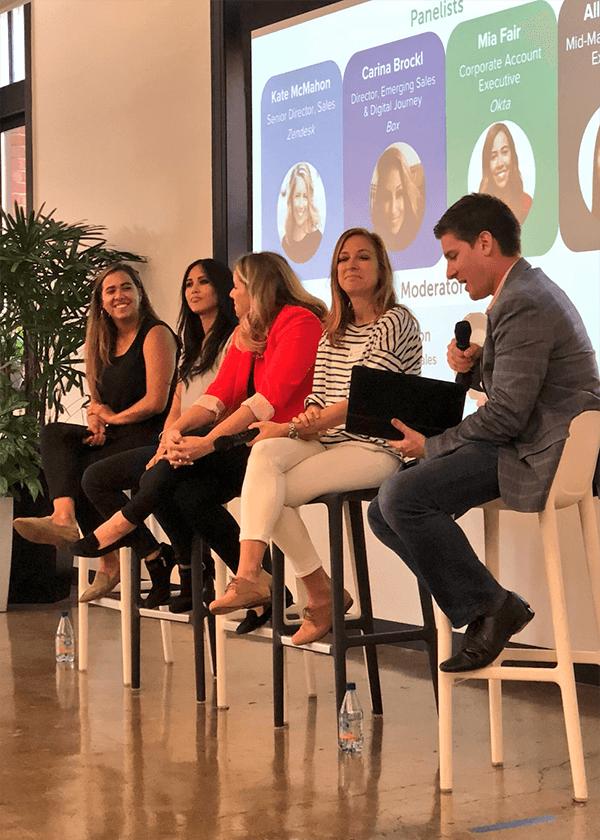 Women In Tech Sales DayintheLife