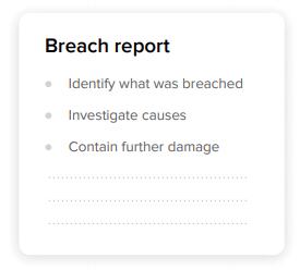 breach report
