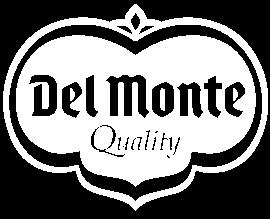 del monte logo white