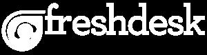 freshdesk logo white