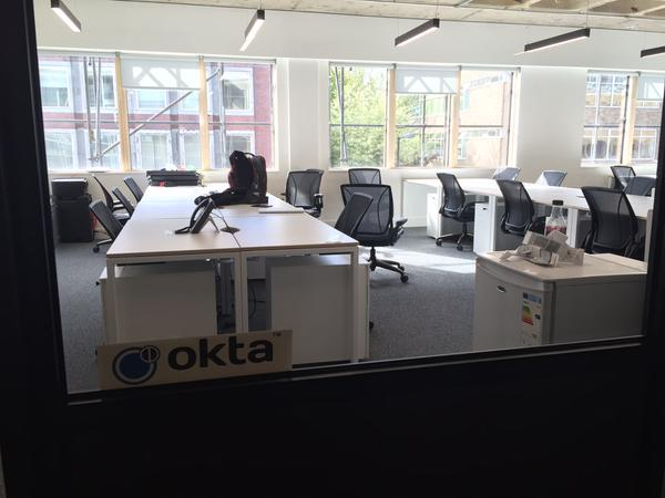 Okta's Brand New London Office (May 2015)