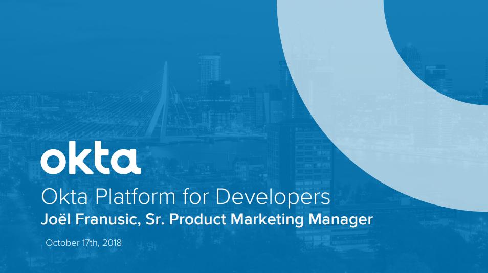 Okta Platform for Developers Workshop thumbnail.