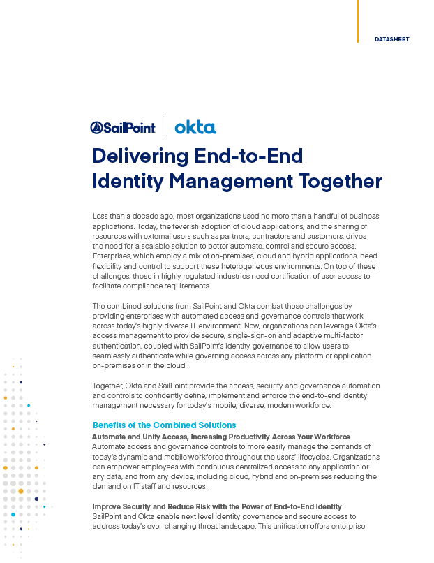 SailPoint Okta Identity Management Together Thumb