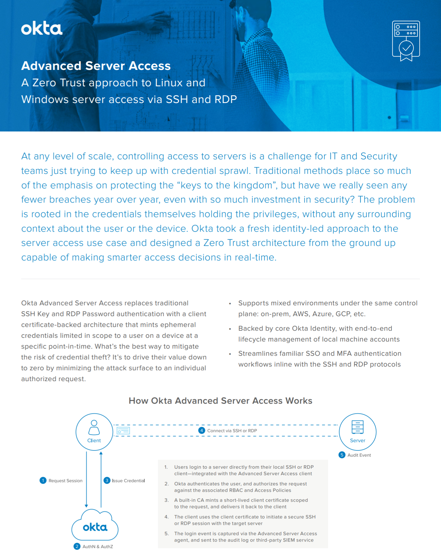 Learn how Okta helps to make smarter access decisions in real-time.