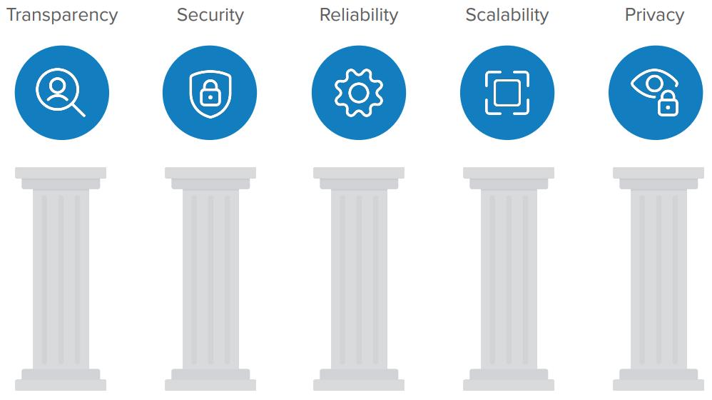 5 pillars of trusted identity