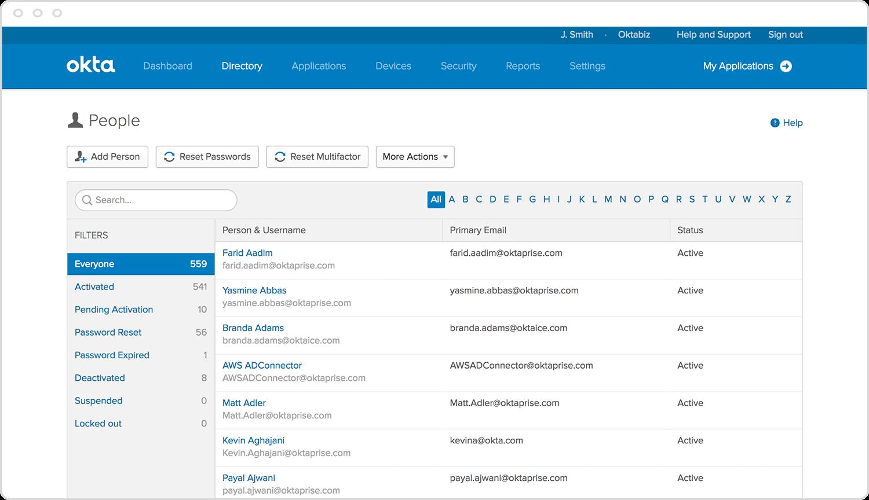 Okta Universal Directory Build Seamless Experiences