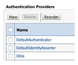 Integrate Okta and Oracle Weblogic with the LDAP Interface   Okta