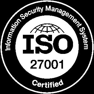 ISO 27001 Logo White