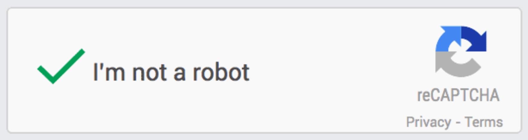 CAPTCHA box