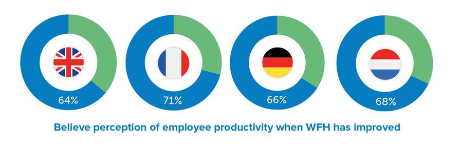 stats employee productivity wfh