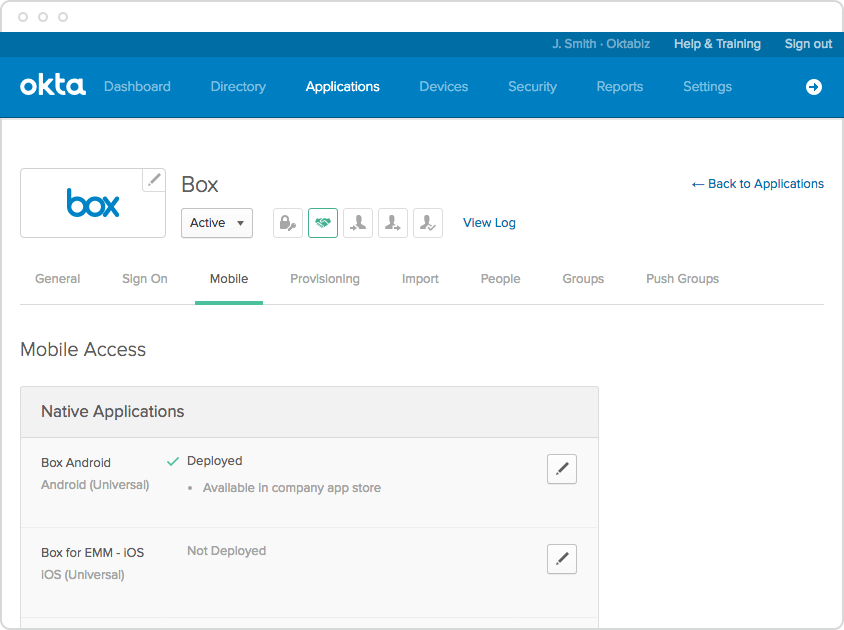 Okta Integrated Lifecycle Management