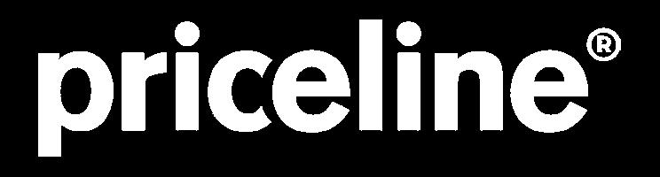priceline logo white