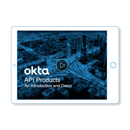 API Produucts Demo Okta